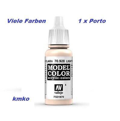 Vallejo 006 70.928 Light Flesh Helle Hautfarbe FS31670 17ml 15,29 €/100ml