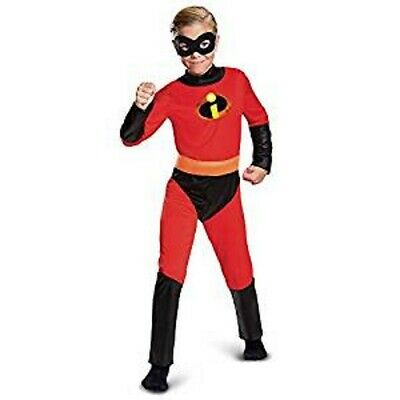 Incredibles 2 Boys DASH Costume Cosplay Dress Up Large 10/12