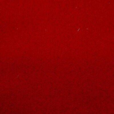 20 OZ. POOL TABLE -BILLIARD CLOTH -FELT - 8 Ft  PRE CUT - RED -  Billiard Pool Table Felt Cloth