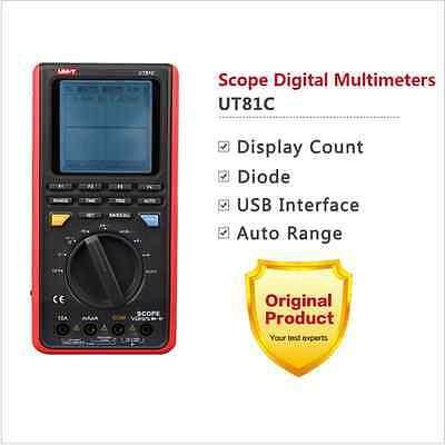 Uni-t Ut81c Graphical Digital Multimeter Auto Range 16mhz 80mss Usb Interface