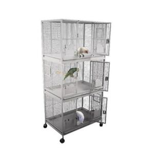 USED Triple Stacker Parrot Cage