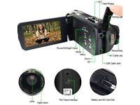 Digital Camera, Portable Mini DV 1080 Full HD Night Vision 3.0 Inch 24