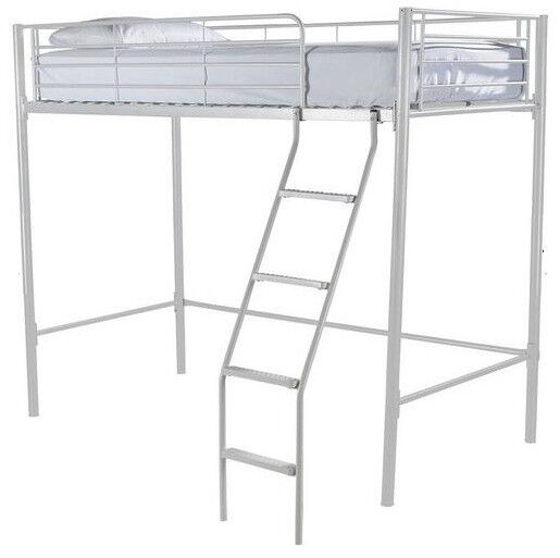 Kidspace Domino High Sleeper Bed Frame White Frame Only H 170 W