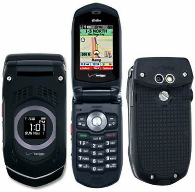Casio G'zOne Rock C731 - Black (Verizon) Cellular Phone on Rummage