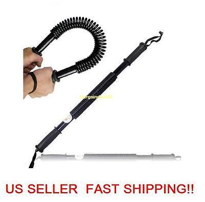20KG Super Heavy Duty Power Bar Twister upper Body workout Strength Training