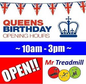 MR TREADMILL OPEN!! >> MONDAY 3RD OCTOBER - PUBLIC HOLIDAY Hendra Brisbane North East Preview