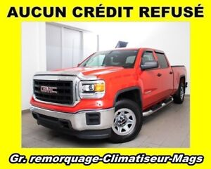 2015 GMC Sierra 1500 4X4 V8 CLIMATISEUR MAGS *GR. REMORQUAGE*