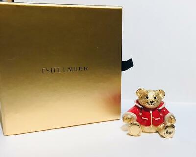 "2007 Estee Lauder/HARRODS PLEASURES ""HARRODS HOLIDAY TEDDY BEAR"" Solid Perfume"