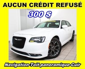 2018 Chrysler 300 S AWD CUIR TOIT PANORAMIQUE *NAVIGATION*