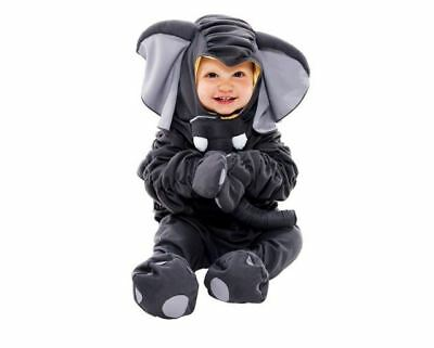 Little Golden Book Saggy Baggy Elephant Infant Costume Baby Halloween 12-18 mo.