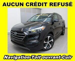 2016 Hyundai Tucson 1.6T LIMITED AWD SIÈGES CHAUFFANTS CUIR TOIT