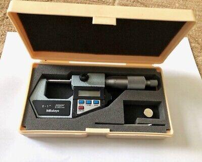 Mitutoyo 395-711-30 Digimatic Micrometer 0-25mm
