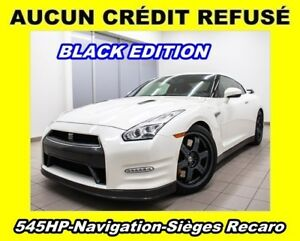 2016 Nissan GT-R BLACK EDITION AWD *NAVIGATION* 545HP *RECARO* B