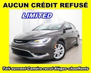 2015 Chrysler 200 LIMITED V6 CAM RECUL SIÈGES CHAUFF *TOIT OUVRA