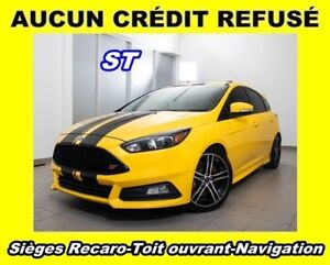 2017 Ford Focus ST TURBO *EDITION SPECIALE* RECARO *NAV* WOW!
