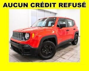 2015 Jeep Renegade SPORT *EDITION COLORADO RED* BAS KILOMETRAGE
