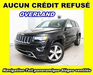 2016 Jeep Grand Cherokee OVERLAND 4X4 TOIT PANO SIÈGES VENTILÉS