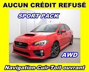 2016 Subaru WRX SPORT-TECH AWD *TOIT OUVRANT* NAVIGATION *WOW!