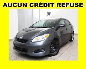 2012 Toyota Matrix CLIMATISEUR *PROGRAMME 100% APPROUVÉ*