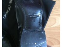 Armani men's dress shoes