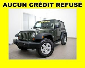 2009 Jeep Wrangler X *SEULEMENT 65 000 KM* ALL-TERRAIN *100% APP
