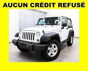 2011 Jeep Wrangler SPORT 4X4 MAGS *PROGRAMME 100% APPROUVÉ*