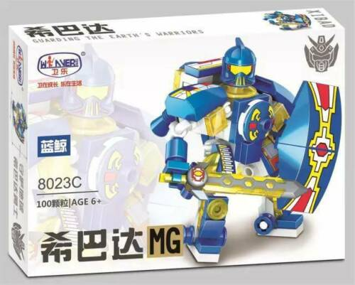 Winner 8023F Militär Serie Spartan-Roboter-8023F Spielzeug Baukästen Sets 100PCS