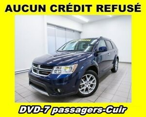 2018 Dodge Journey GT AWD NAVIGATION CUIR 7 PASSAGERS *DVD*