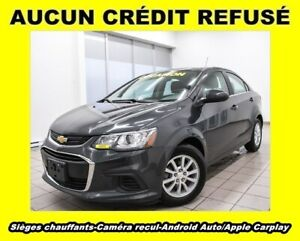 2018 Chevrolet Sonic ANDROID APPLE CARPLAY CAM RECUL *SIÈGES CHA