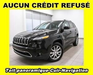 2018 Jeep Cherokee LIMITED 4X4 NAVIGATION CUIR *TOIT PANORAMIQUE