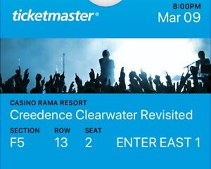 Creedence Clearwater Revisited tickets.