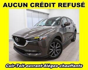 2017 Mazda CX-5 GT AWD TOIT OUVRANT SIÈGES CHAUFF CUIR *BAS KM*
