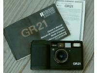 Ricoh GR 21 Wide Angle Film Camera