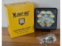 US Snap - Mac Led Work Light Fully Water / Dust Proof