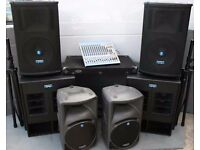 PA systems| Sound Systems Hire | PA Speakers Hire | Sounds Hire | projector with screen hire