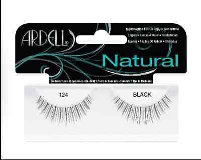 (LOT OF 72) Ardell Natural Lashes #124 False Fake Eyelashes Black Fashion