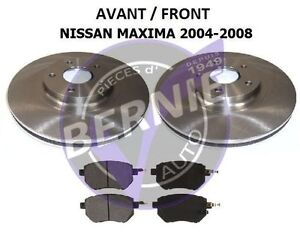FRONT BRAKE KIT Freins AVANT NISSAN MAXIMA 2004-2008