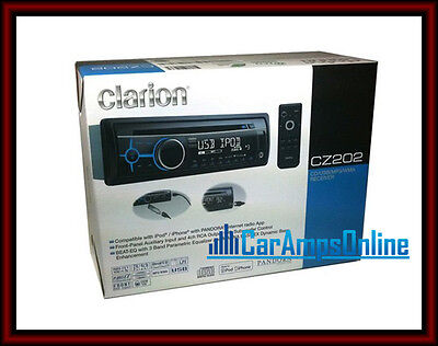 Buy Clarion Car Audio - � Clarion Cz202 In Dash Car Stereo Cd Player Receiver Head Unit Usb Aux Input �