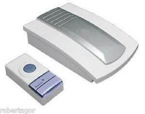 Campanello wireless senza fili universale casa ufficio ebay - Campanello casa senza fili ...