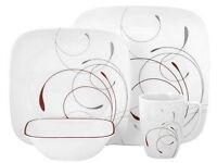 32-Piece Corelle 'Splendor' Design Dinner Set