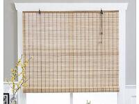 Bamboo window blind 140cm x 170cm