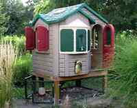 Looking for a used plastic playhouse