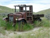 ISO Abandoned Trucks and Barnhouses