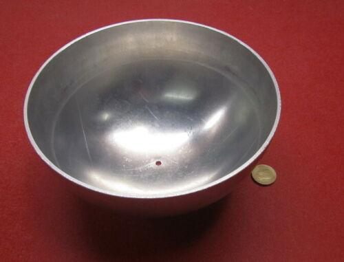 "Aluminum Half Sphere / Balls 8.00"" Diameter x 4.00 Height, 1 Piece"
