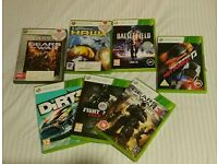 Xbox 360 Games Giveway - 7 titles
