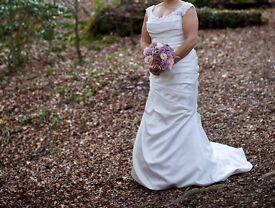 1 Mikaella wedding dress. 2 sorella vita bridesmaid dresses and 2 bhs flower girl dresses