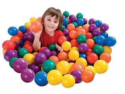 100-Pack Intex Small Plastic Multi-Colored Fun Ballz For A Ball Pit | 49602EP](Ballpit Balls)