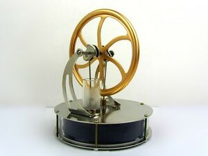 LOW TEMPERATURE STIRLING ENGINE EDUCATIONAL MODEL TOY BRAND NEW NOVELTY GIFT
