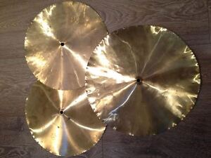 3 China-style cymbals - Very cool!