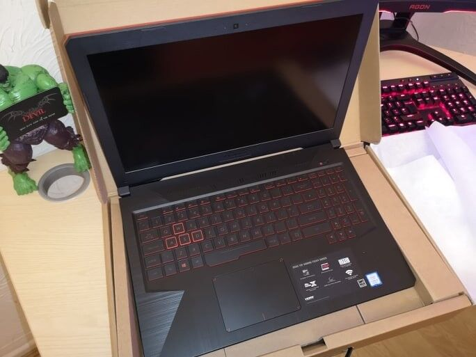 ASUS FX504GM New unused Gaming laptop GTX 1060 i5 8th generation SSD + HDD  | in Norwich, Norfolk | Gumtree